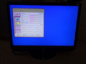 """Hitachi 22"""" TV With DVD Player & Freeview. Model number L22D01UB"""
