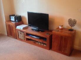 Television Unit , Storage Units + Nest of Tables