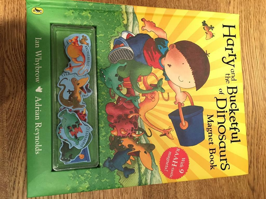 Harry and the Bucketful of Dinosaurs magnet book