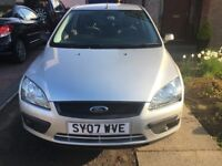 Silver Ford Focus 1.8 Sport - 2007 Plate £1100