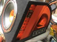 Twin Edge subwoofer 1800watts