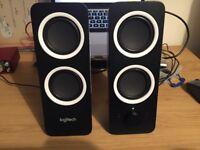 Logitech Z200 Speakers As New