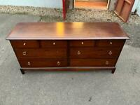 Stag Minstrel 8 drawer chest * free furniture delivery *