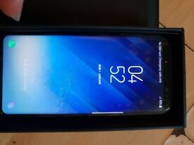 Samsung s8 mobile phone