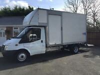 2006-56-Reg ford transit 350-115ps LWB jumbo Luton tail lift 1 years mot FREE UK DELIVERY