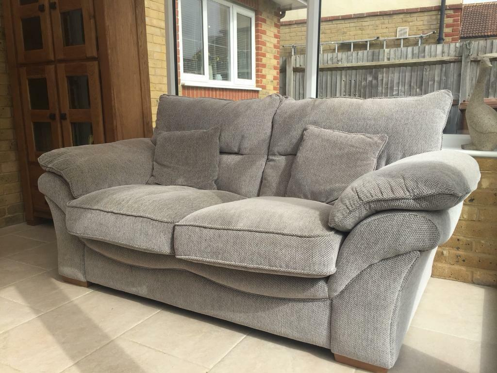 Sofas 3 Seater And Armchair Grey Oak Furniture Land