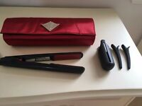Ghd gold series scarlet limited edition with red plates in excellent condition and working order £75