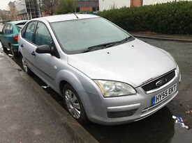 2006 FORD FOCUS AUTOMATIC PETROL GHIA 5 DOOR HATCHBACK SILVER MOT GREAT DRIVE NOT GOLF ASTRA FIESTA