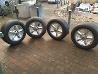 Land Rover Tyres an Alloy Rims