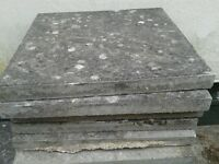 Sixty (60) Grey Paving Slabs