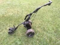 Powakaddy motorised golf trolley