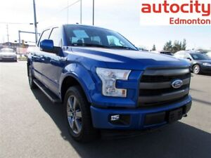 2017 Ford F-150 LARIAT SPORT CREW CAB 4X4 ECO BOOST FULLY LOADED