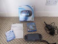Playstation boxed Vita 3.57 8GB memory and game terraria HENkaku