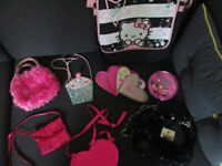 VARIOUS GIRLS HANDBAGS - FROM £1.00 PER ITEM - GC