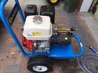 Pressure washer/jet wash Honda gx390 15 Lpm-275 bar-3990 psi new unused!!!