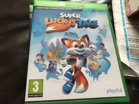 Xbox one game for sale Super lucky tails £15