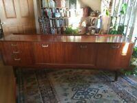 Vintage G-Plan Tola wood sideboard