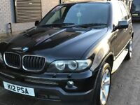 BMW X5 2004 PRIVATE PLATE 3.0 SPORT AUTOMATIC DIESEL