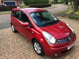 Nissan Note 2008 Red 1.4 Diesel