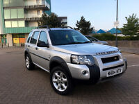 2004 LAND ROVER FREELANDER TD4 HSE S/W SILVER, F/S/H, FULL LEATHER, SATNAV,CLEAN