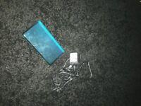 AQUA BLUE NINTENDO DS && GAMES