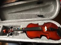 1/8 size violin (student model from Gear4Music)