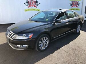 2012 Volkswagen Passat Highline, Auto, Leather, Roof, Diesel, 58