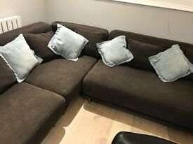 IKEA l shaped sofa