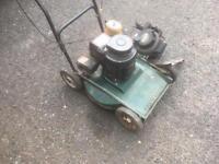 Hayterette rough cut mower