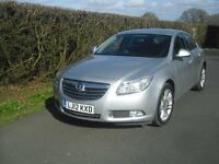 vauxhall Insignia exclusive 5 door manual 1.8