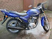 Kymco PULSAR LX 125cc running project
