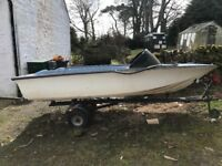 Boat for sale with trailer