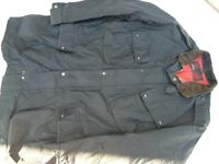 Black motorcycle jacket Trialmaster XL500 by Belstaff