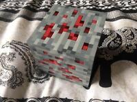 Minecraft light up red cube