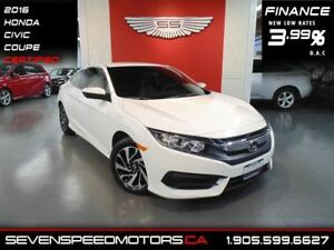 2016 Honda Civic LX ACCIDENT FREE|$122 BW| MANUFACTURER WARRANTY