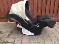 Graco car seat for baby