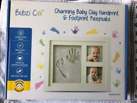 Hand and foot print kit NEW & SEALED!