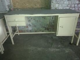 """Work Bench with two drawers & box type F"""""""