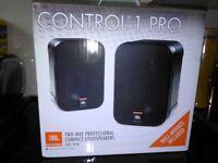JBL CONTROL 1 PRO SPEAKERS BNIB pair