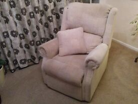Beige Armchair - only 3 years old