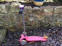 Pink Micro Scooter- used but good condition