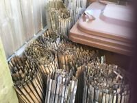 BAMBOO FENCING GOOD CONDITION LARGE AMOUNT