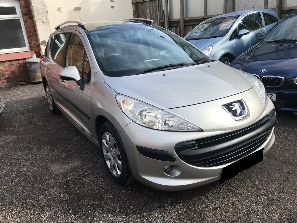 Peugeot 207 SW 1.6 HDi S 5dr - 2007, 2 Owners, MOT March 2019