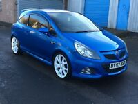 VAUXHALL CORSA VXR 2007 57 REG FULL SERVICE HISTORY PLUS FULL HEATED LEATHER INTERIOR P/X WELCOME