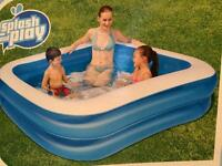 Large paddling pool £15