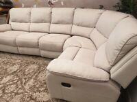 Harveys corner recliner sofa
