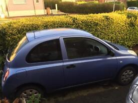 Nissan micra ***PRICE REDUCED!!***