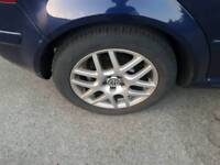 Vw montreal 16 inch alloys with expensive avon tyres