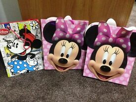 Mickey Mouse gift boxes and bags