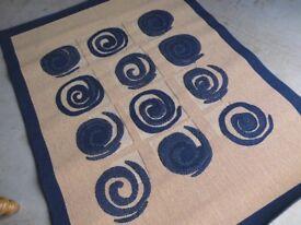 New...Kitchen / Hallway Large patterned mat. 190 x 140 cm